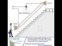 staircase timer switch connection diagram new 2016 youtube