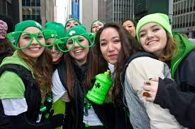 st patrick u0027s day parade in nyc guide including route map
