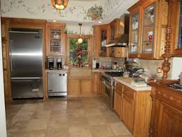 Kitchen Flooring Options by Bamboo Floor Dark Cabinets Pleasant Home Design
