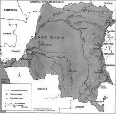 Republic Of Congo Map Congo Democratic Republic Of The Geographic Regions Flags Maps