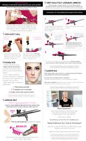 Makeup That Looks Airbrushed Dinair Personal Pro Dinair Airbrush Makeup
