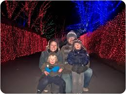 Zoo Lights Pictures by Holiday Fun In Portland Zoo Lights Stay At Home Dad Pdx