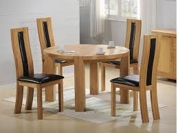 furniture cute expandle glass dining table and black modern