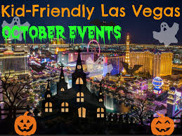 october 2016 events and activities kid friendly las vegas