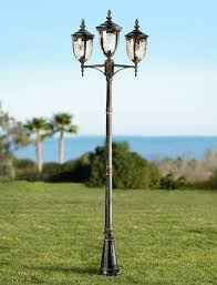 Outdoor Light Post Fixtures by Bellagio Collection 96