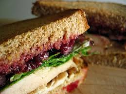 roast turkey and cranberry sandwich can t a just eat a