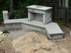 Building Outdoor Fireplace With Cinder Blocks by How To Build An Outdoor Fireplace With Cinder Blocks Google