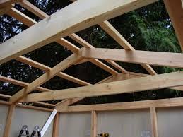 prefabricated roof trusses diy prefab