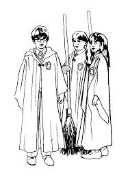 draw harry potter coloring pages print painting picture
