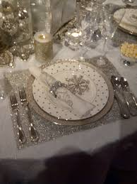 snowflake christmas or new years eve theme receptions