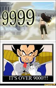 Its Over 9000 Meme - 9999 it s over 9000 funny its over 9000 meme on me me