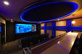 maple grove theater for a modern home theater with a theater
