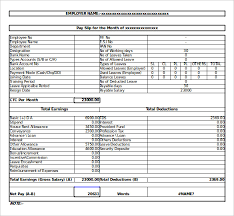 slip template u2013 13 free word excel pdf documents download