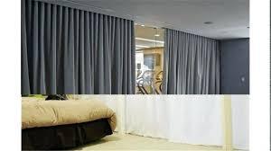 Fabric Room Divider Fabric Room Divider Surprising Hanging 16 For Minimalist
