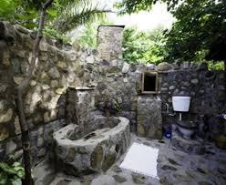 outdoor bathrooms ideas stunningly outdoor bathroom designs
