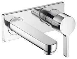 Hansgrohe Bathroom Faucets by Hansgrohe 31163 Metris S Wall Mounted Single Handle Faucet Trim