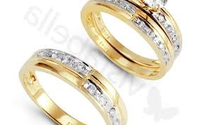 yellow gold wedding ring sets ring shocking wedding ring sets princess cut yellow gold