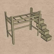 treppe bauanleitung hochbett bauen bauanleitung