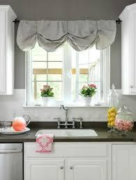 diy kitchen curtain ideas best 25 no sew valance ideas on bathroom valance