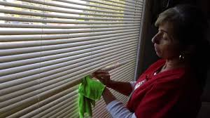how to clean smoke damaged blinds youtube