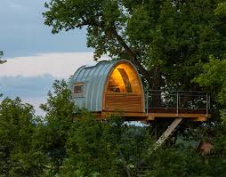 cabins in the canopy 13 modern tree houses by baumraum urbanist