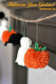 decorate your mantle or home for halloween with this easy