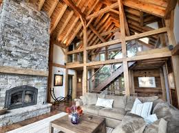 a frame interior frame home normerica authentic timber