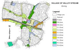 Zoning Map Zoning Map Building Department Village Of Valley Stream