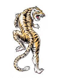 tiger temporary tattoos for tattootatu