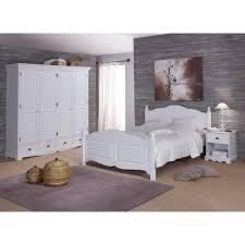 chambre style anglais chambre blanche complète lit 160 armoire chevet beaux meubles