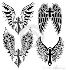 the 25 best cross with wings tattoo ideas on pinterest cross