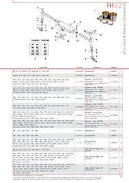 case ih catalogue front axle page 25 sparex parts lists