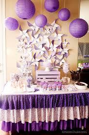 Dessert Table Backdrop by Pretty Purple Party Dessert Table Backdrops And Lilacs