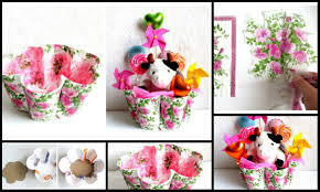 How To Make Gift Baskets How To Make Gift Baskets From Recycled Glasses Crazzy Craft
