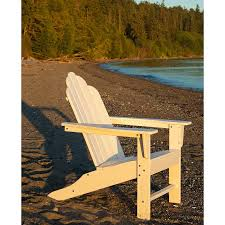 POLYWOOD Long Island Adirondack Beach Chairs Weatherproof - Outdoor furniture long island