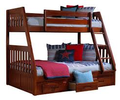 Bunk Bed With Twin Over Full acadia merlot twin over full bunk bed bed frames discovery