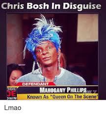 Chris Bosh Meme - chris bosh in disquise defendant de mahogany phillips known as