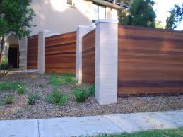 fencing and boundary retaining landscape design construction