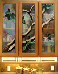 Stained Glass Kitchen Cabinets Kelley Studios Kitchen Cabinets
