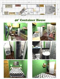 Container Floor Plans A Very Space Efficient Floor Plan For A Container Home Container