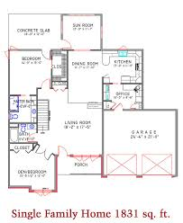 Single Family Floor Plans Floor Plans St Francis Manor