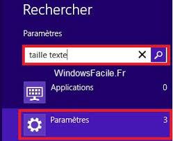 windows 8 bureau classique windows 8 8 1 agrandir globalement la taille des textes et