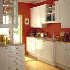 Painting The Kitchen Thinking About Painting My Cabinets White And My Walls Red In The