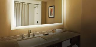 easy tips to revamp lighted bathroom wall mirror free designs
