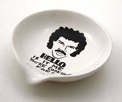 lionel richie cheese plate lionel richie crooning spoon rest dudeiwantthat