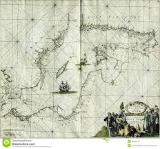 Baltic Sea Map Antique Map Baltic Sea Stock Photography Image 33908172