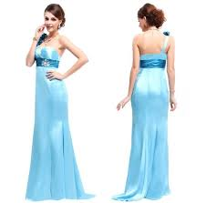 long formal ice blue prom dresses under 100 dollars