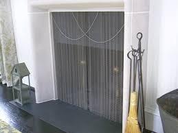 Fireplace Chain Screens - fireplace curtain sciatic