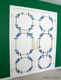 add molding to update closet doors remodelaholic bloglovin u0027