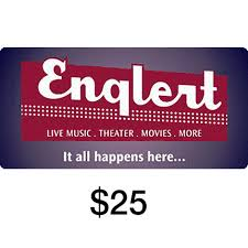 20 dollar gift card gift certificate 25 the englert theatre